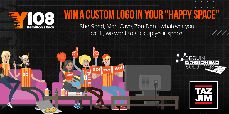 """Win a Custom Logo In Your """"Happy Space""""!"""