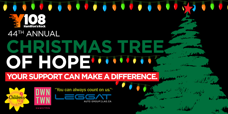 Christmas Tree of Hope & Operation Santa Claus
