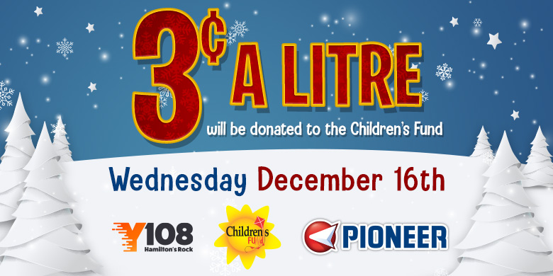 Pioneer 3 Cent-a-Litre Day
